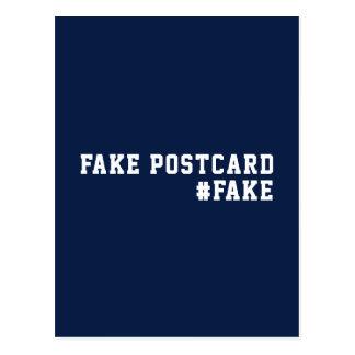 De valse Vervalsing van de Humor van het Nieuws Briefkaart