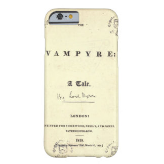 De Vampier van Byron Barely There iPhone 6 Hoesje