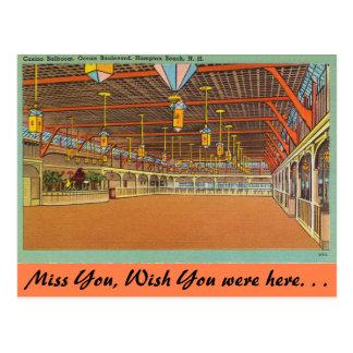De van Newhampshire, Balzaal van het Casino, Briefkaart