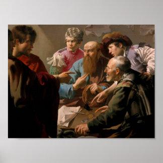 De vangst van Christus, Heinrich Hofman Poster