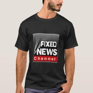 De vaste (Zwarte) T-shirt van het Nieuws