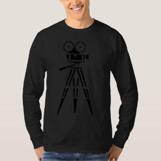 De Vastgestelde Camera van de vintage Film van de T Shirt