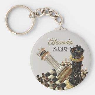 De Vastgestelde Koning van het schaak van de Raad Sleutelhanger
