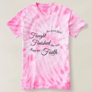 De vecht Gebeëindigde Gehouden T-shirt van het