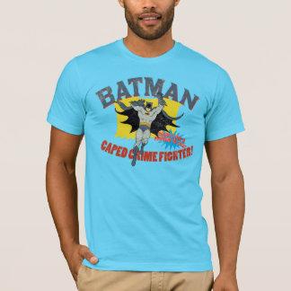 De Vechter van de Misdaad van Batman Caped T Shirt