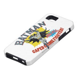 De Vechter van de Misdaad van Batman Caped Tough iPhone 5 Hoesje