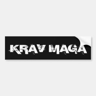 De Vechtsporten van Maga van Krav Zelf - defensie Bumpersticker