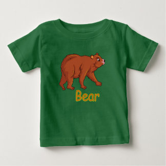 De vector illustratie draagt baby t shirts