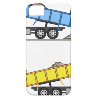 De vector van de Vrachtwagen van de stortplaats Barely There iPhone 5 Hoesje
