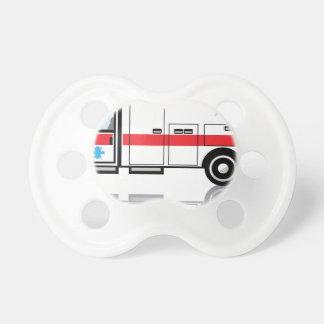 De vector van de ziekenwagen fopspenen