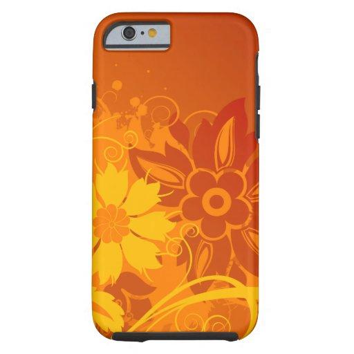 De Vectoren van de bloem Tough iPhone 6 Case