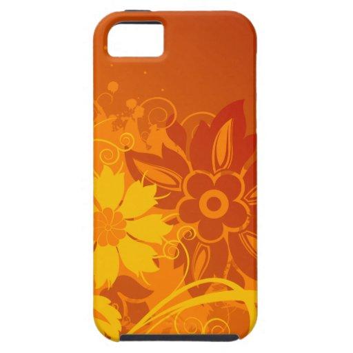 De Vectoren van de bloem iPhone 5 Covers