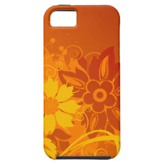 De Vectoren van de bloem Tough iPhone 5 Hoesje
