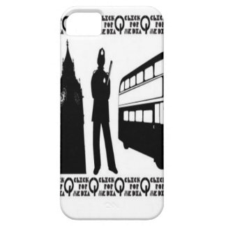 De vectorenontwerp van Engeland het UK iPhone 5 Case-Mate Hoesjes