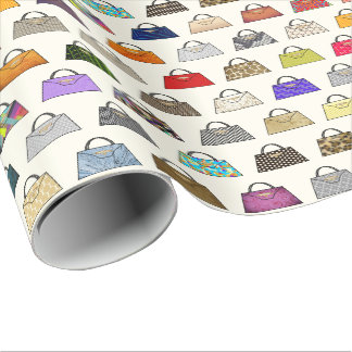 De veelkleurige Omslag van de Gift van de Mode van Cadeaupapier