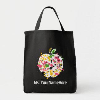 De veelkleurige Verf ploetert de Leraar van Apple Draagtas
