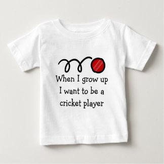 De veenmolspeler | van het baby Leuke pasgeboren Baby T Shirts