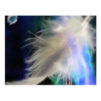 De Veer van de engel, briefkaart