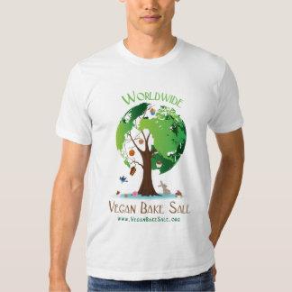 De Veganist wereldwijd bakt het overhemd van de Tshirt