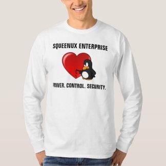 De Veiligheid Geek Valentijn van de computer T Shirt