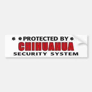 De Veiligheid van de Hond van Chihuahua Bumpersticker