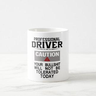 De Veiligheid van de vrachtwagenchauffeur Koffiemok