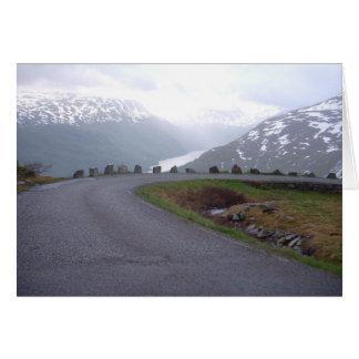 De veiligheidstraliewerk van Noorwegen 2008 Kaart
