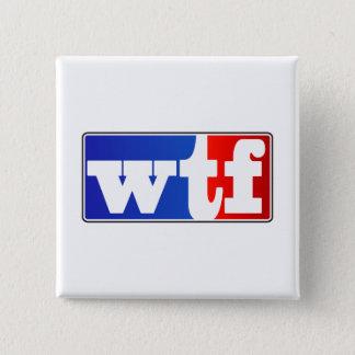 De Ventilator van Sporten WTF Vierkante Button 5,1 Cm
