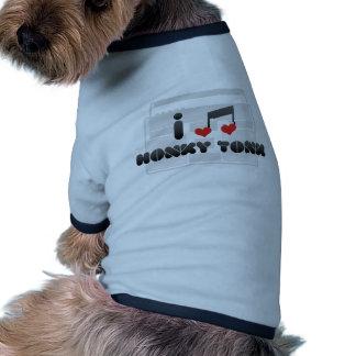 De ventilator van Tonk van Honky Tshirt Voor Honden