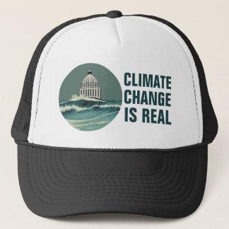 De Verandering van het klimaat is het Echte Trucker Pet