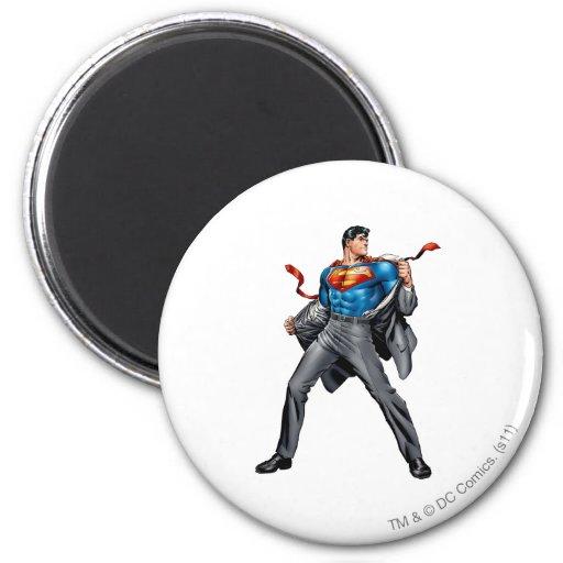 De veranderingen van Kent in Superman Koelkast Magneet