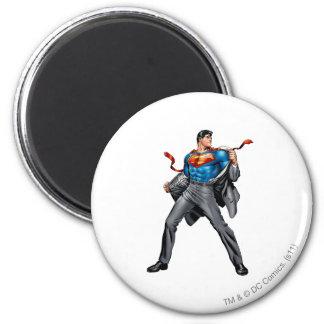 De veranderingen van Kent in Superman Ronde Magneet 5,7 Cm