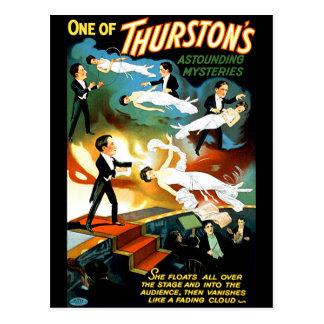 De Verbazende Geheimzinnigheid van Thurston! Briefkaart