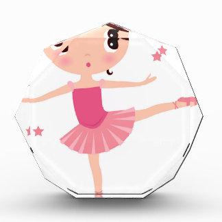 De verbazende hand schilderde Roze balerina Acryl Prijs