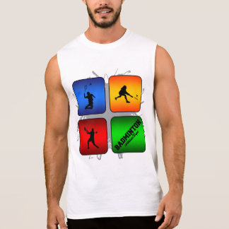De verbazende Stedelijke Stijl van het Badminton T Shirt