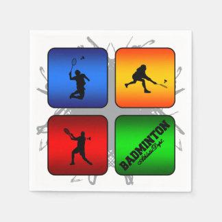 De verbazende Stedelijke Stijl van het Badminton Wegwerp Servetten