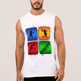 De verbazende Stedelijke Stijl van het Basketbal T Shirt