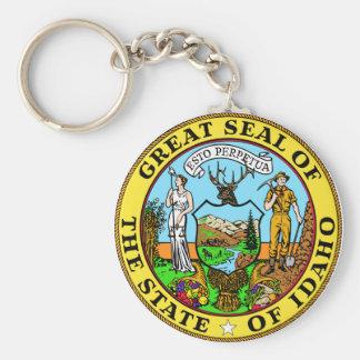 De Verbinding Keychain van de Staat van Idaho Sleutelhanger