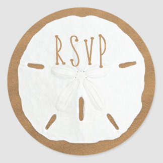 De Verbinding van de Envelop van de Dollar RSVP Ronde Sticker