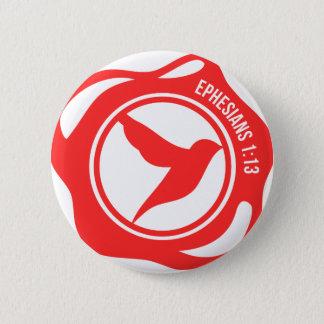 De Verbinding van de Heilige Geest Ronde Button 5,7 Cm