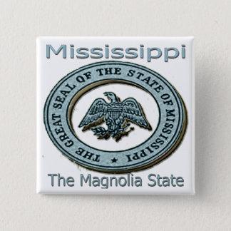 De Verbinding van de Staat van de Magnolia van de Vierkante Button 5,1 Cm