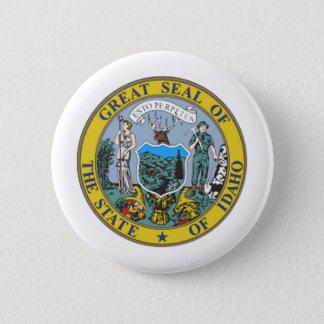 De Verbinding van de Staat van Idaho Ronde Button 5,7 Cm