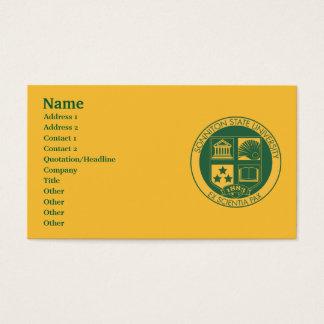 De Verbinding van de Universiteit van de Staat van Visitekaartjes
