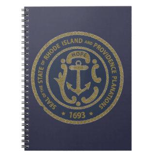 De Verbinding van Rhode Island Ringband Notitieboek