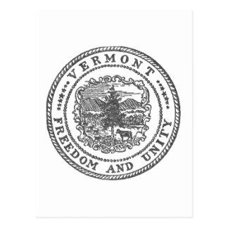 De Verbinding van Vermont Briefkaart