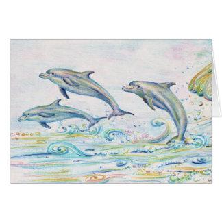 De verblindende Kaart van de Nota van Dolfijnen -