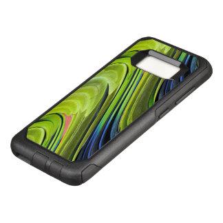 De Veren van de Papegaai van geel-Naped Amazonië OtterBox Commuter Samsung Galaxy S8 Hoesje