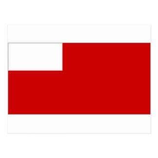 De verenigde Arabische Vlag van Abu Dhabi van Briefkaart