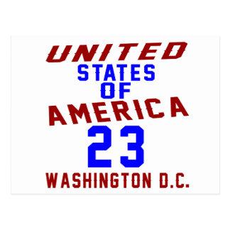 De Verenigde Staten van Amerika 23 Washington D.C. Briefkaart