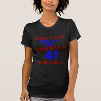 De Verenigde Staten van Amerika 41 Washington D.C. T Shirt